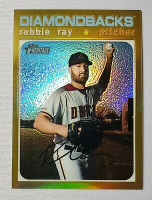 2020 Topps Heritage Robbie Ray Gold Refractor /5