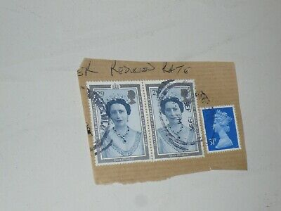 Royal Mail Stamps Queen Elizabeth Mother 90th Birthday 1990 Royal Family Royalty