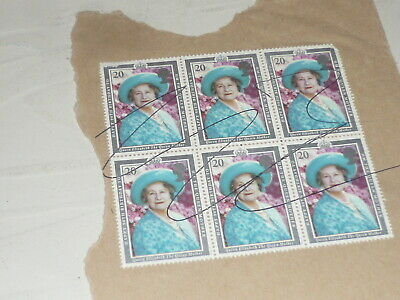 Royal Mail Stamps Queen Mother Elizabeth 90th Birthday 1990 Royalty Royal Family