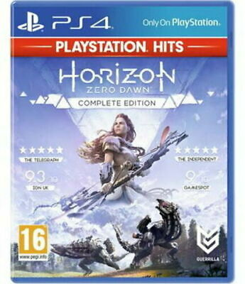 Horizon Zero Dawn Complete Edition PS4 Brand New & Sealed Fast Free Post