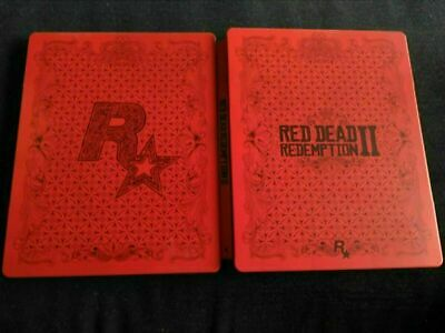 Red Dead Redemption II 2 Steelbook Xbox One/PS4 (No Game) & Fast Free Post