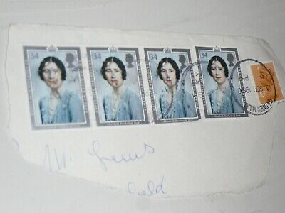 Royal Mail Stamps Queen Mother Elizabeth Duchess of York 90th Birthday 1990