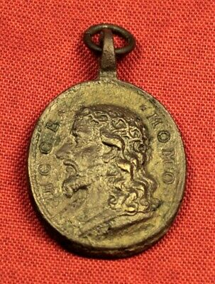 Late Medieval Religious Holy Medal - 16 -17. Century