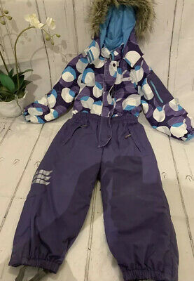 Reima tec+ Aaren Snowsuit 104 4-5 Years Unisex Waterproof Warm ski RRP £150 Lux
