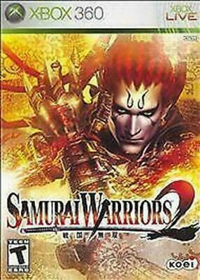 Samurai Warriors 2 (Microsoft Xbox 360, 2006)
