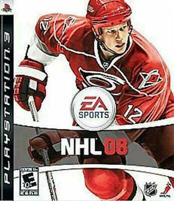 NHL 08 (Sony PlayStation 3, 2007) DISC IS MINT