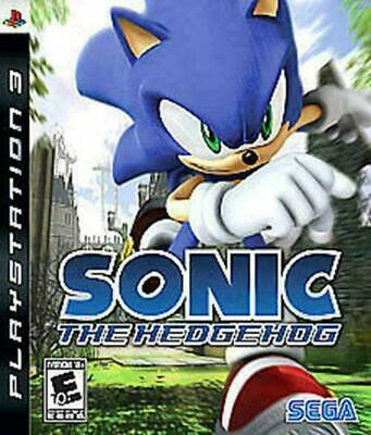 Sonic the Hedgehog (Sony PlayStation 3, 2007) DISC IS MINT