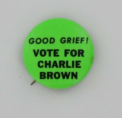Hippie Humor 1967 Vote For Charlie Brown Snoopy Charles Schulz Comics Good Grief