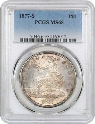 1877-S Trade$ PCGS MS65 - Great Type Coin - US Trade Dollar - Great Type Coin