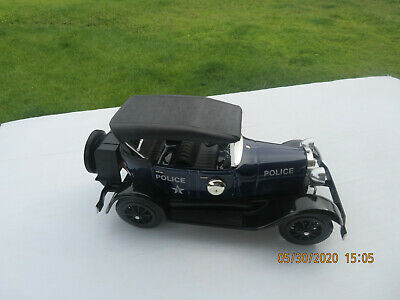 Beam's Ford Model A Police Car Porcelain Decanter 1929 Empty