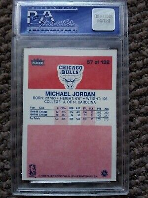 Michael Jordan rookie card psa5. A chance to own a piece of history.