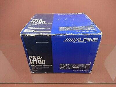 Alpine PXA-H700 oldschool DSP RUX-C700 car audio processor pioneer dex f1 H701