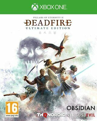 Pillars of Eternity 2  Deadfire For Xbox One (New & Sealed)