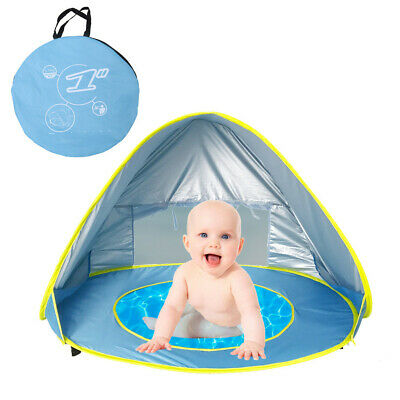 Portable Baby Beach Tent Shelter Sun UV Shade Up Canopy Fishing Camping Tent