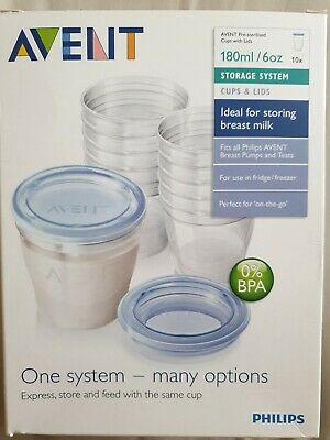 Avent One System Many Options  Storage cups baby food containers
