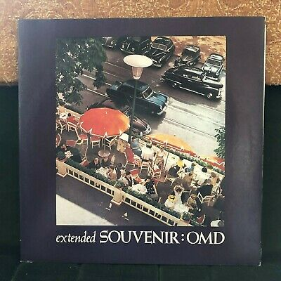 """Orchestral Manoeuvres In The Dark Extended Souvenir 1981 Synth Pop 10"""" Vinyl"""