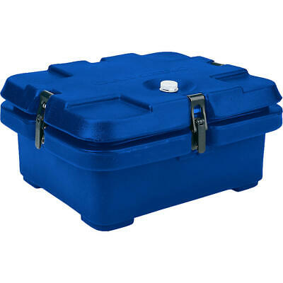 Cambro Top Loading Insulated Food Carrier, Half Size Pans Navy Blue 240Mpc-186