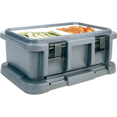 "Cambro Top Loading Insulated Food Carrier For 6"" Deep Pans Granite Gray Upc160"