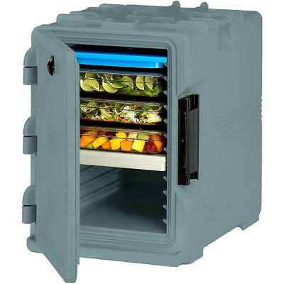 Cambro S-Series Insulated Food Carrier / Hot Box, Built-In Gasket Slate Blue