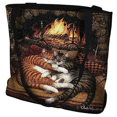 Woven Tote Bag - All Burned Out 895