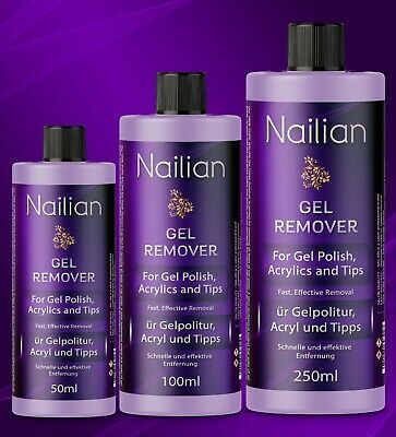 Gel Polish Remover Acetone UV LED Nail Polish Cleaner Manicure 250ml