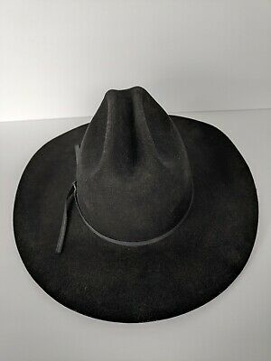 Bullhide Hats 0369Bl Rodeo Round-Up Collection Silver Spur 4X Black Cowboy Hat