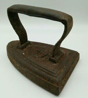 Heavy Doorstop Antique Collectors Iron