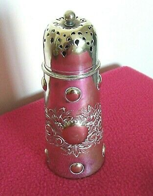 Pretty Vintage Silver Plated Sugar Sifter/Shaker.