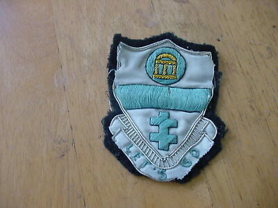 Rare Ww2 Theater Made ? Brocade 325Th Airborne Infantry Regt Patch