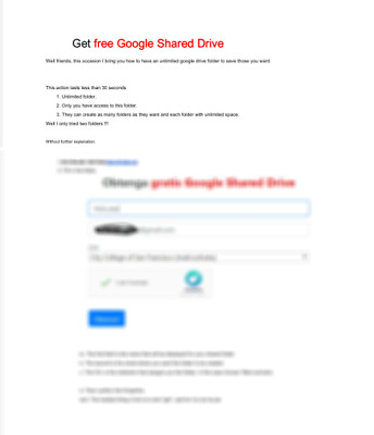 how to get an Unlimited Shared Drive in Google Drive pdf