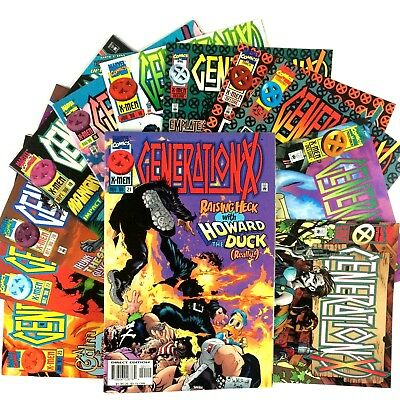 Generation X 12 Comic Book Lot VF NM Marvel 7 9 12 13 14 16 18 19 20 21 22 23