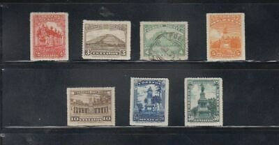oldhal-Mexico/Set from 1923/Scott# 634-41