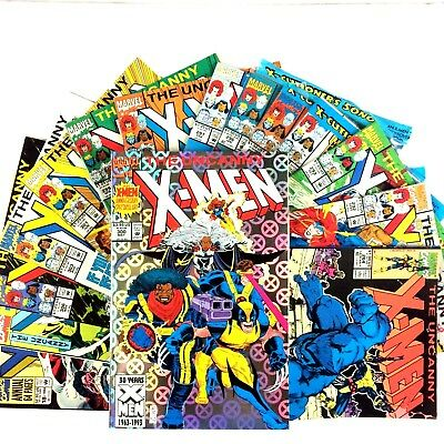 Uncanny X-Men 15 Comic Lot Marvel Gambit Cable Apocalypse Stryfe Wolverine Beast