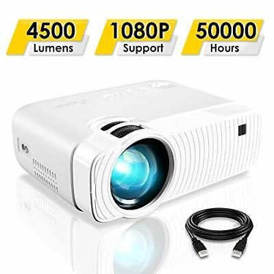 ELEPHAS Projector, GC333 Portable Projector with 4500 Lumens and Full HD 1080p,