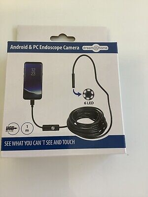 Dream@Home Android + PC  Endoscope Camera Kamera 7mm 6 weiße LEDs PA L7+