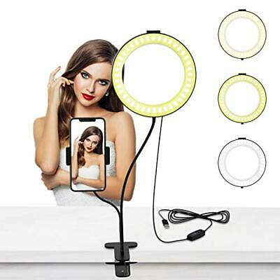 Selvim Selfie Ring Light with Cell Phone Holder, 6 Inch 6 inch