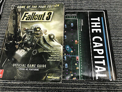 Fallout 3 Game Of The Year Edition Prima Official Guide Covers All Platforms Map