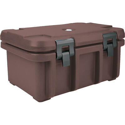 "Cambro Top Loading Insulated Food Carrier For 8"" Deep Pans Dark Brown Upc180-131"