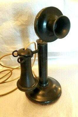 Antique American Bell Telephone Company Western Electric Candlestick Phone