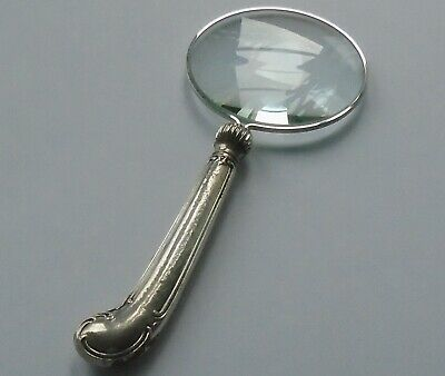 Cooper Bros HM Silver Handle Magnifying Glass Sheffield 1914