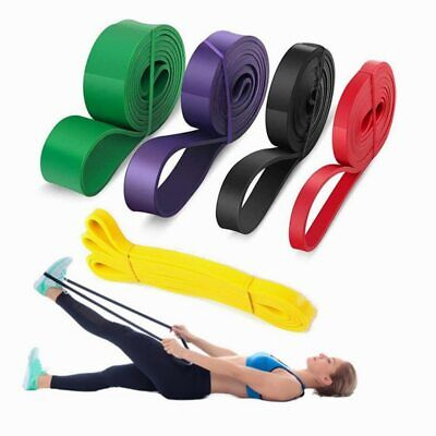 Fitness Rubber Pull Up Resistance Bands Mobility Stretch Powerlifting Equipment