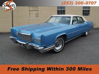 1973 Lincoln Continental  Blue Lincoln Continental with 61,634 Miles available now!