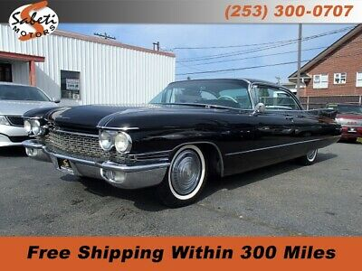1960 Cadillac DeVille  Black Cadillac Coupe de Ville with 128,642 Miles available now!