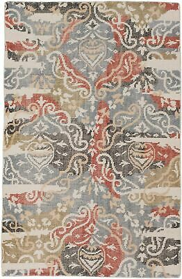 "Hand-knotted  Carpet 5'1"" x 7'11"" Eternity Transitional Wool Rug"