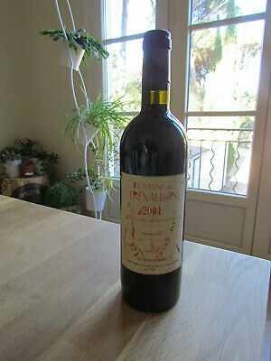 rare bouteille TREVALLON ROUGE 2001