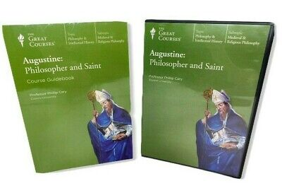 Augustine: Philosopher and Saint The Great Courses 6 CDs History Medieval
