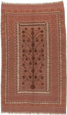 "Hand-knotted Carpet 5'5"" x 8'11"" Traditional, Tribal Wool Rug"