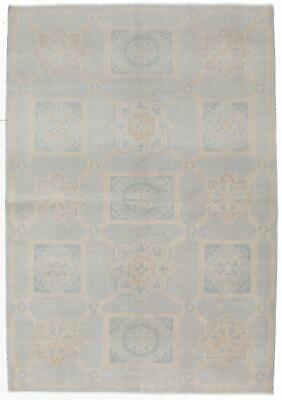 "Hand-knotted  Carpet 6'2"" x 9'1"" Eternity Transitional Wool Rug"