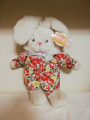 Tender Moments Toy Peluches Plush Coniglio Rabbit Vintage