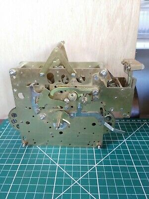hermle grandfather clock mechanism spares or repair untested